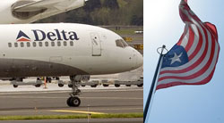 Delta flights resumes direct flights to Liberia