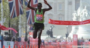 Mutai wins the race