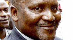 African Billionaire Dangote